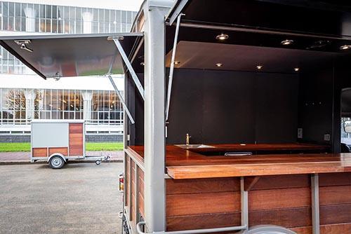 Foodtruck huren Citroen HY Paardenwagen interieur